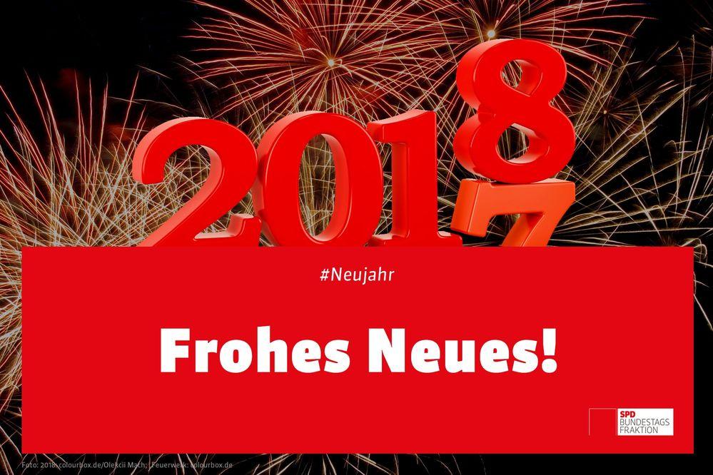 Der SPD Ortsverein wünscht allen ein gutes neues Jahr - SPD Königsfeld